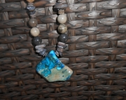 Turquoise Jasper Nugget Necklace
