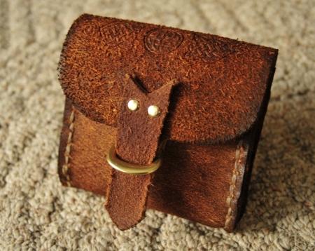 Celtic Rover Leather Belt Bag