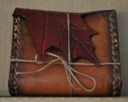 Maple Leaf Leather Belt Bag