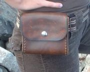 The Basic Leather Belt Bag