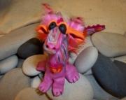 Pink Clay Dragon
