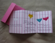 Clothesline Bachelorette Party Invite