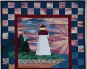 Pattern:  Mulholland Lighthouse Wall Hanging