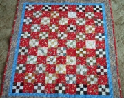 Baby Quilt Red