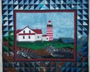 Pattern:  West Quoddy Lighthouse Wall Hanging