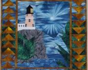 Pattern:  Split Rock Lighthouse Wall Hanging