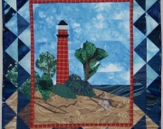 Pattern:  Little Sable Lighthouse Wall Hanging
