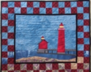 Pattern:  Grand Haven Lighthouse Wall Hanging