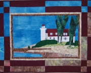 Pattern:  Point Betsie Lighthouse Wall Hanging