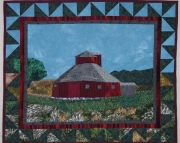 Pattern:  Little Round Barn Wall Hanging