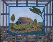 Pattern:  Prairie Barn Wall Hanging