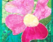 Pink Flower Wall Hanging