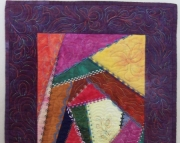 Call Me Crazy quilted wall hanging