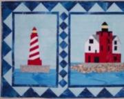 Pattern:  Round Island/White Shoal Lighthouse Wall Hanging