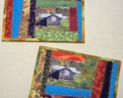 Mug Rugs Barn Quilts