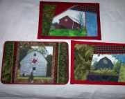 Fabric Postcards