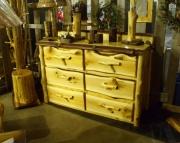 Rustic Cedar Dresser
