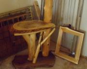 Cedar Log Lamp