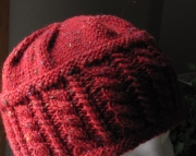 Knitted Cable Hat