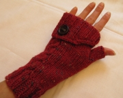 Knitted Convertable Fingerless Mittens