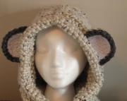 Knitted Critter Hood