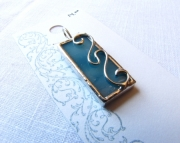 Stained Glass Curves Pendant