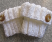 Knitted Ribbed Boot Cuffs