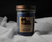 8 OZ JELLY JAR CANDLE