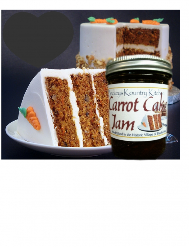 Carrot Cake Jam Free Shipping | Handmade Michigan