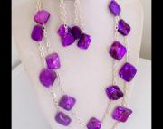 purple chunky shell