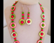 Hot pink and Green fun