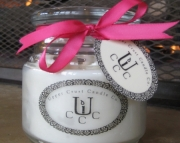 Lavender Soy Aromatherapy Candle
