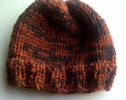 Knit Uni-sex Hat and Cowl Set