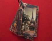 Pendant Charm Photo Book - Paris Vacation