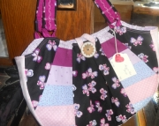 Pastels & butterflies purse