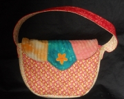 Small Handbag w/flower