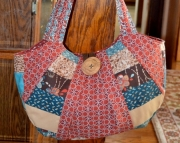 Woodland rustic purse