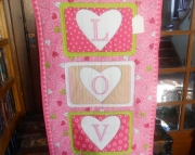 LOVE Runner/Wall Hanging