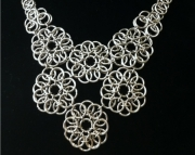 Peony Custom Chainmaille Necklace