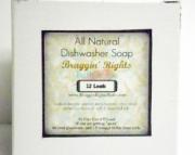 30 Percent Off Sale- Bergamot Grapefruit Natural Dishwasher Soap