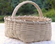 Hand woven Muffin Basket - Natural