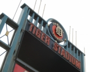8x10 Photography Print of Old Tiger Stadium Sign