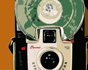 Vintage Brownie Camera Digital Print On Archival Matte Paper 8x10