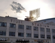8x10 Tiger Stadium Photography Print, Good By