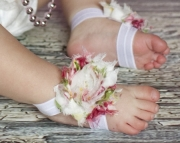 Barefoot Sandals - Soleless shoes - Shabby Chic