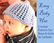 Baby Boy Hat or Baby Girl Hat Crochet Pattern