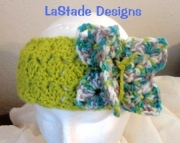 Butterfly Ear Warmer Headband Pdf Crochet Pattern