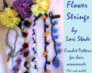 Flower Strings Hair Accessory
