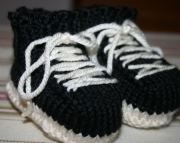 Sneakers Baby Booties Custom Made to Order
