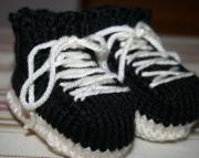 Sneakers Baby Booties Custom Made to Order